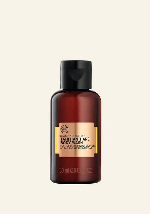 Aceite en Gel de Baño y Ducha de Tiaré de Tahití Spa Of The World™ 60ml