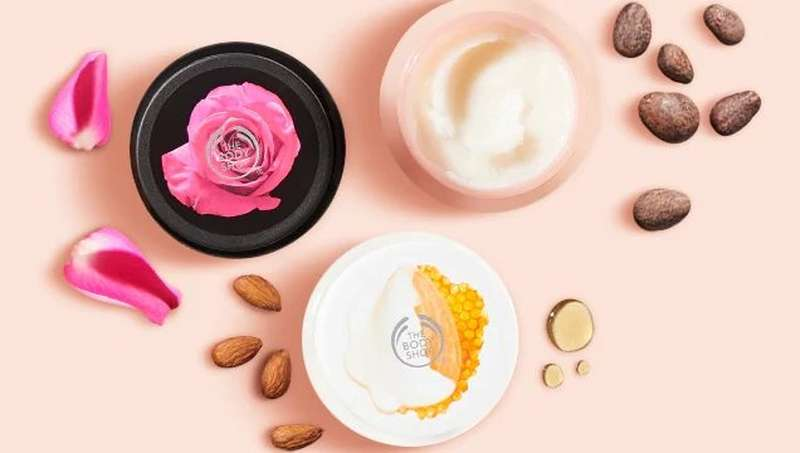 The Body Shop Exfoliation Products