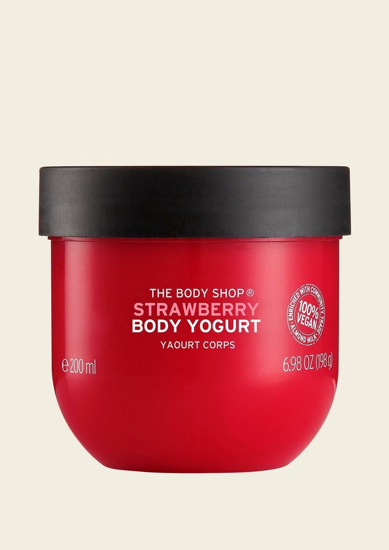 Body Yogurt de Fresa de The Body Shop