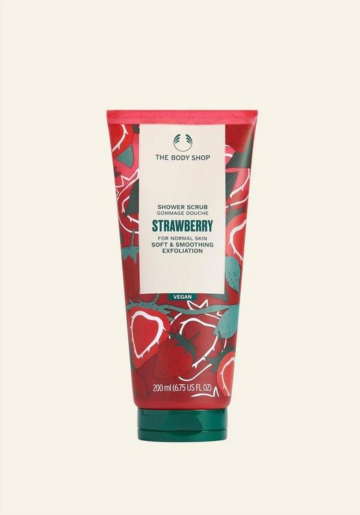 Strawberry Shower Scrub 200ml