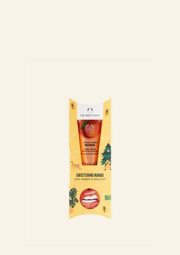 Sweetening Mango Lips, Hands & Nails Kit