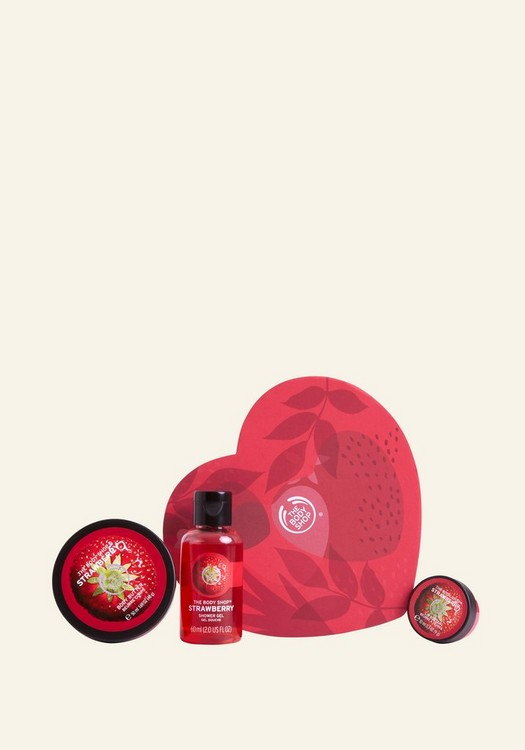 Sweet on You Strawberry Gift Set 1 Piece