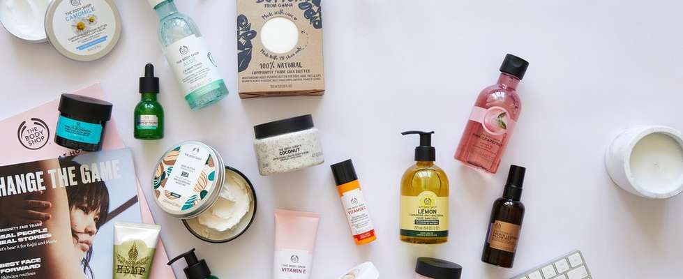 Business kit The body shop products