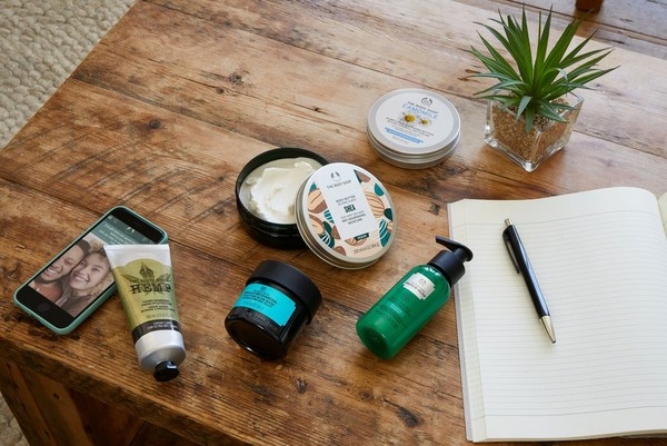 Starter kit the body shop products