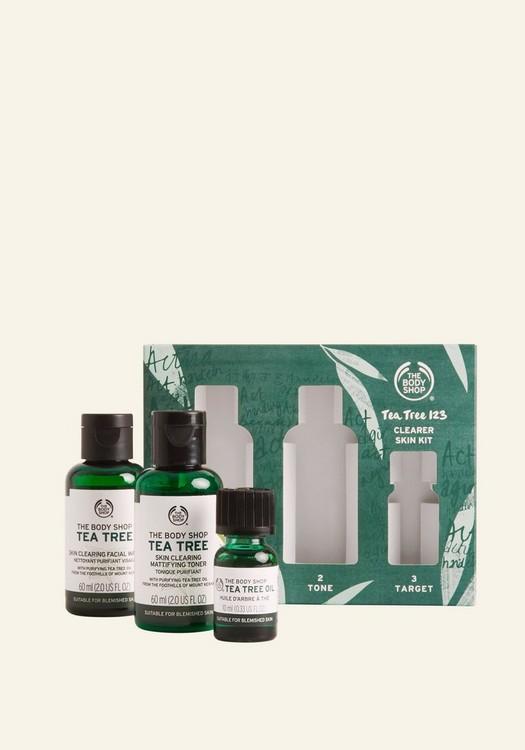 Tea Tree 123 Clearer Skin Kit 1 Piece