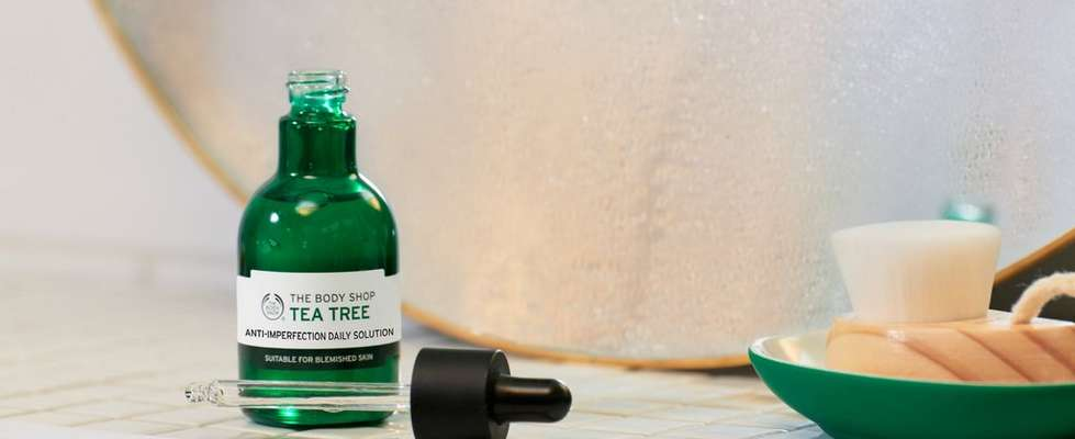 La Solution Quotidienne Anti-Imperfection À L'Arbre À Thé De The Body Shop