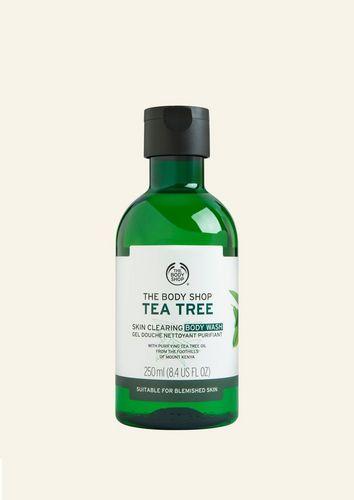 Gel douche à l'huile d'arbre à thé