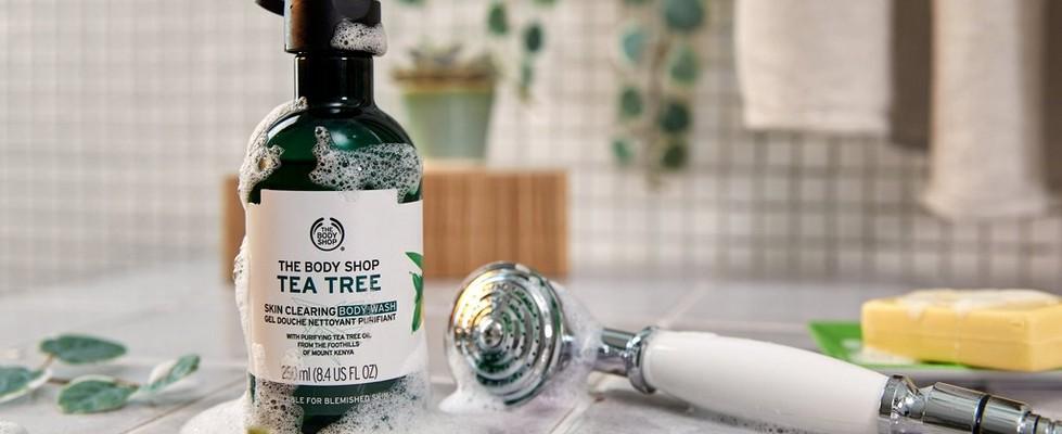 Nettoyant corporel à l'arbre à thé The Body Shop