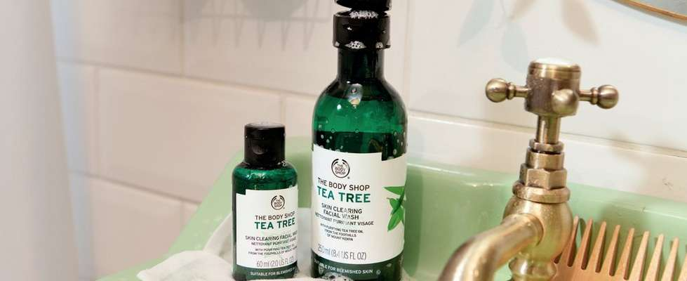 The Body Shop Tea Tree produkter