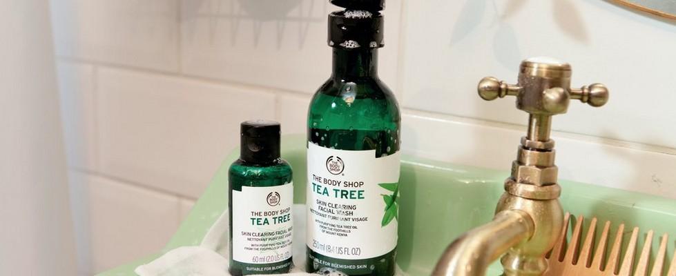 Productos de Árbol de Té de The Body Shop