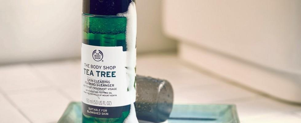 Espuma Limpiadora Purificante Árbol de Té de The Body Shop