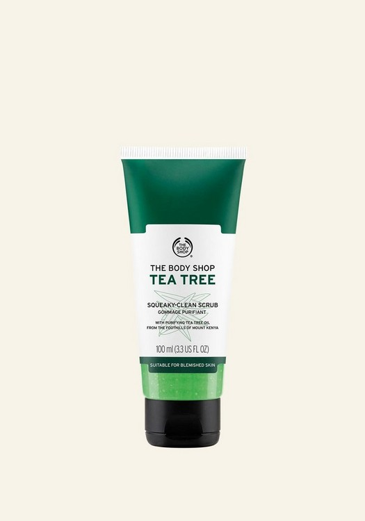 Tea Tree Oil Squeaky-Clean Exfoliating Face Scrub 100 ML