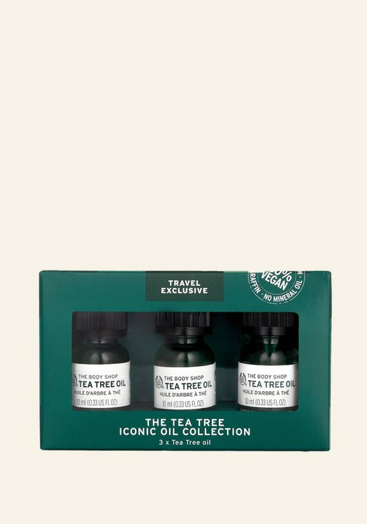 The Tea Tree Iconic Oil Collection