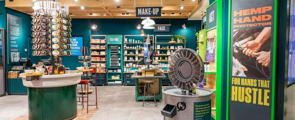 The Body Shop Store Location