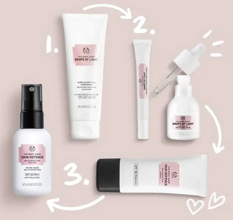 The Body Shop Skin Defence Produkte
