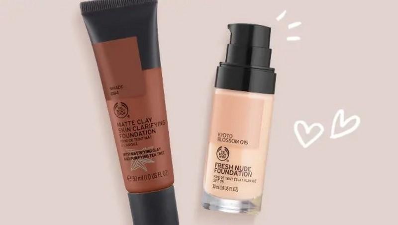 The Body Shop Foundation Produkte