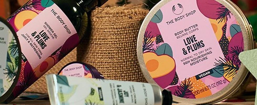 The Body Shop Seasonal body range