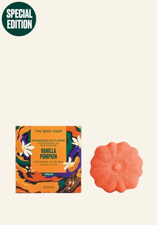Vanilla Pumpkin Fragranced Bath Bomb 50g