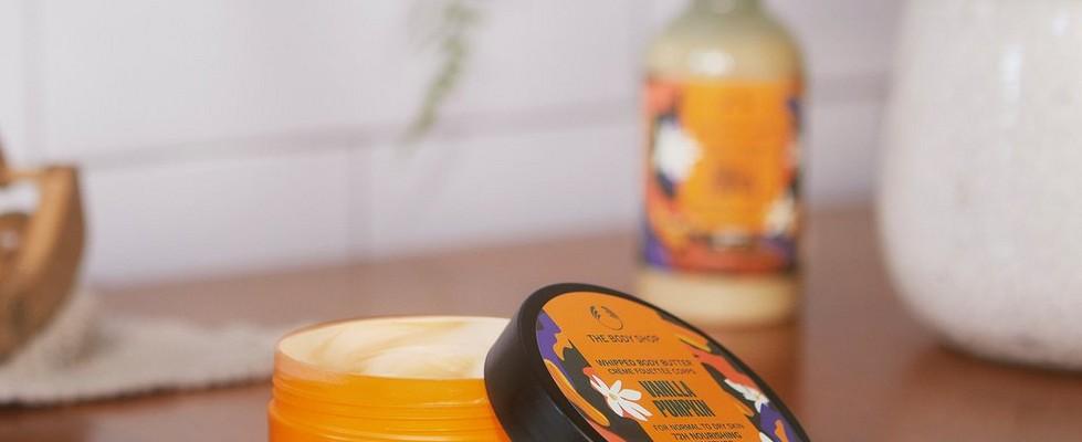 The Body Shop Vanilla Pumpkin range shot