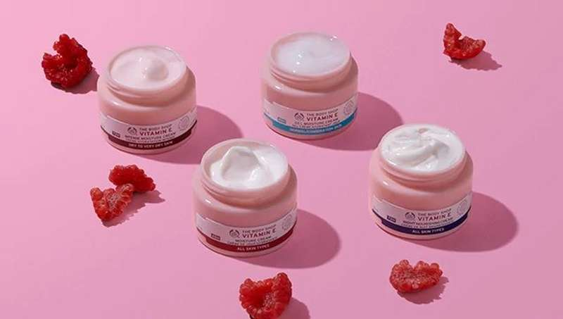 The Body Shop moisture creams