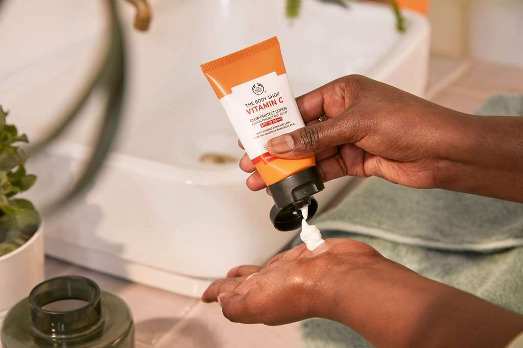 The Body Shop vitamin c spf lotion