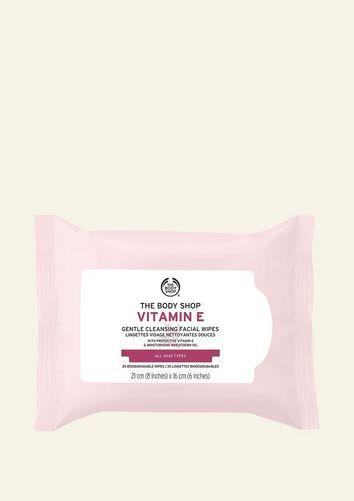 Toallitas De Limpieza Facial De Vitamina E