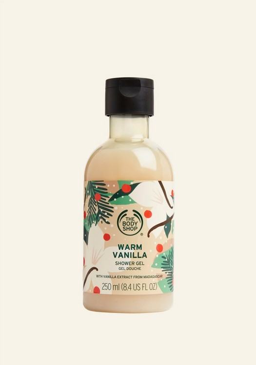 Warm Vanilla Shower Gel 250ml