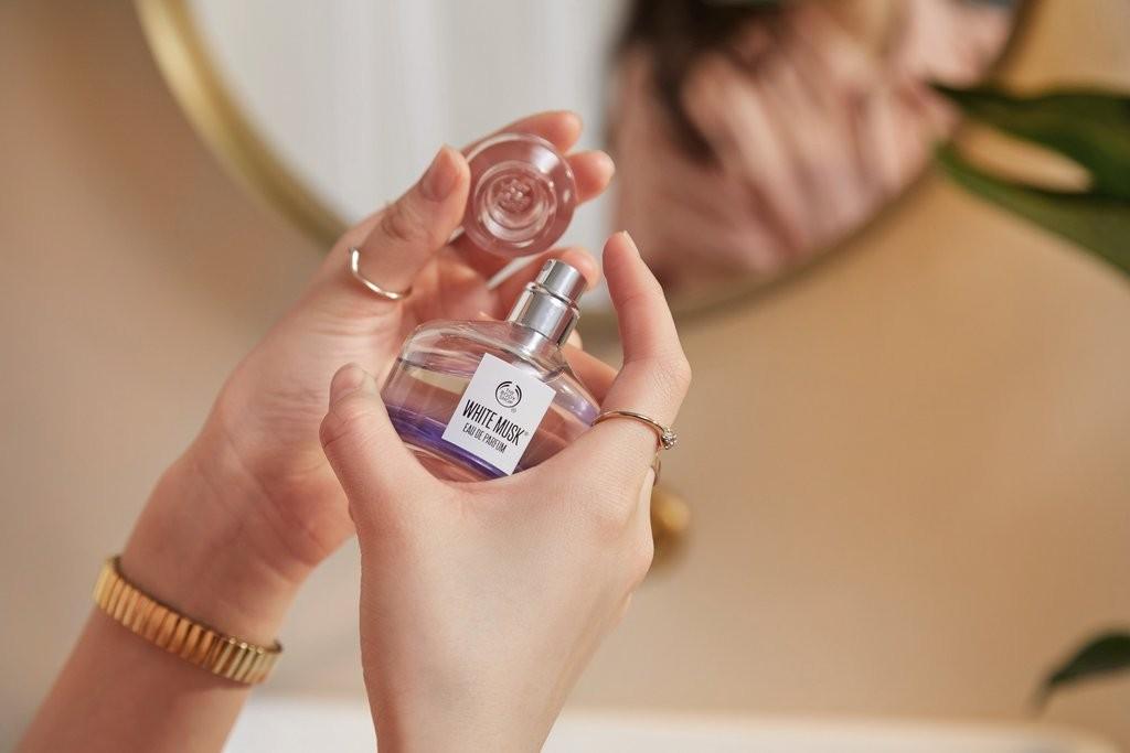 Eau De Parfum White Musk De The Body Shop