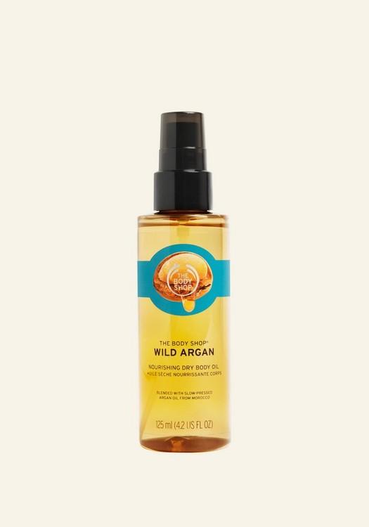 Wild Argan Oil Nourishing Dry Body Oil 125ml