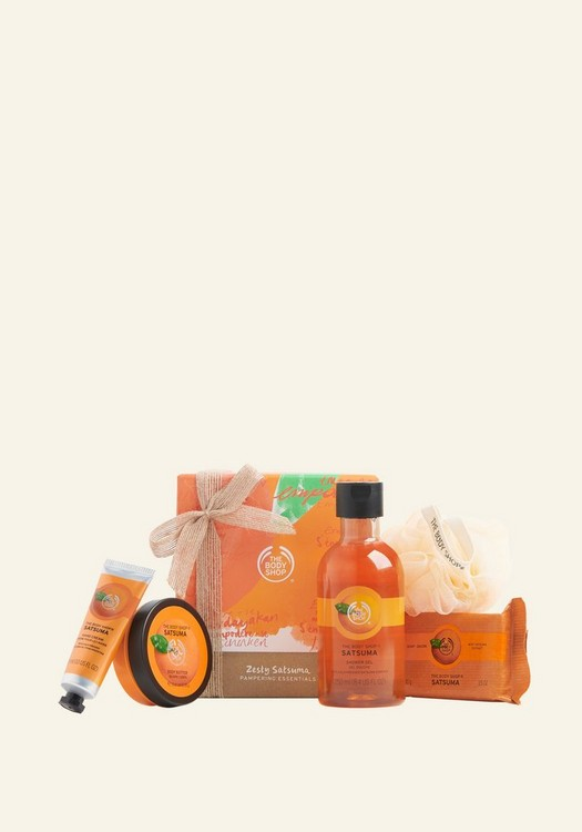 Zesty Satsuma Pampering Essentials  1 Piece
