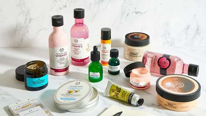 The Body Shop Beauty kit