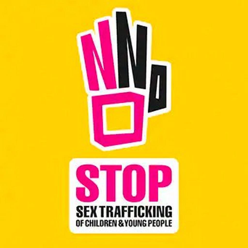 stop sex trafficking poster