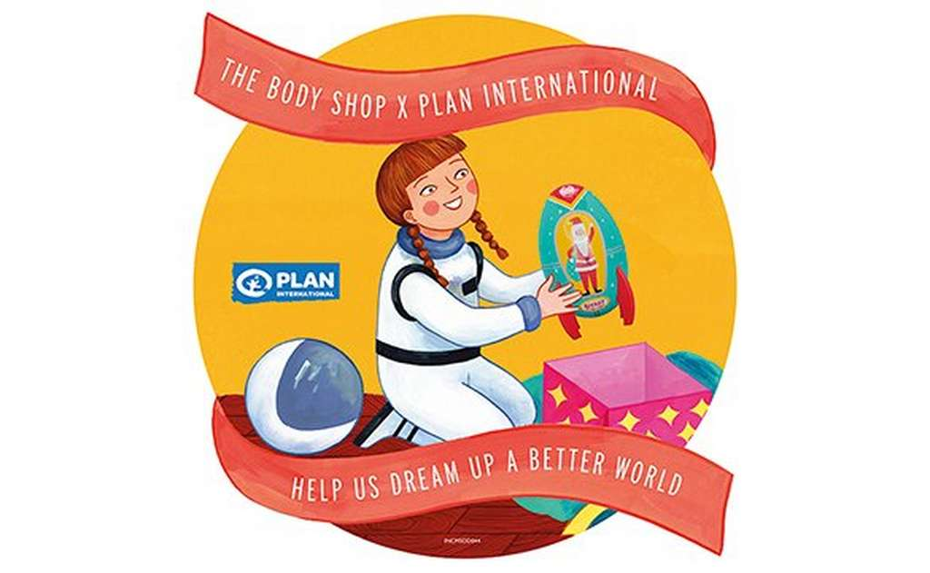 The Body Shop sticker