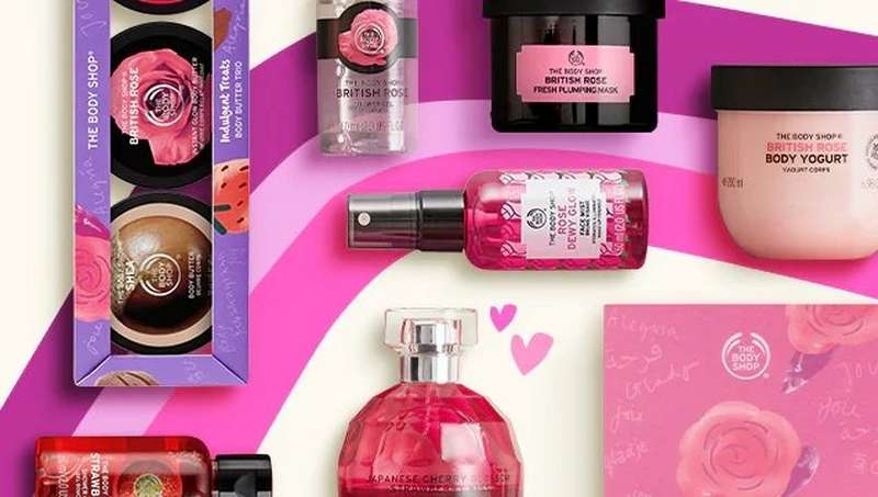 THE BODY SHOP VALENTINES GIFTS