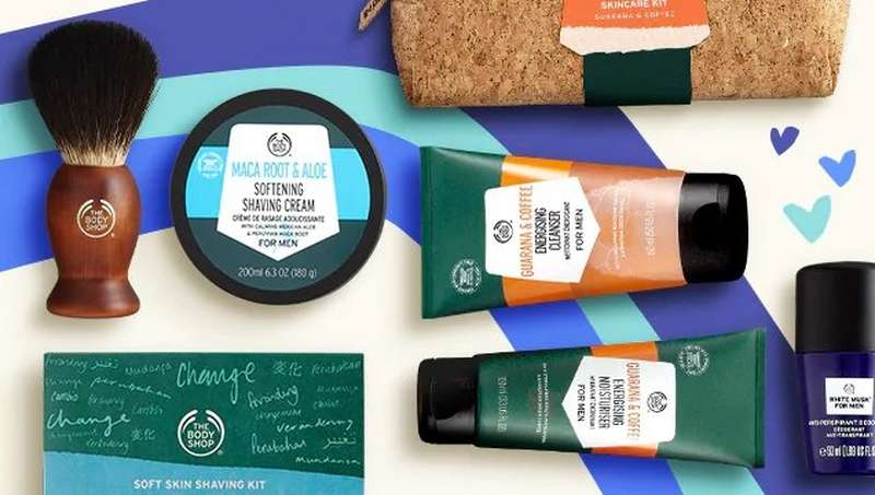 THE BODY SHOP GIFTS FOR MEN