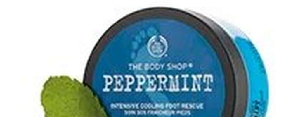 The Body Shop Peppermint Foot Scrub