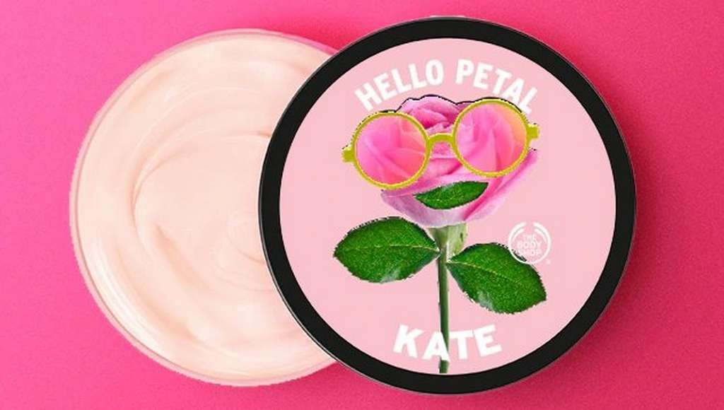 Personalised body butter