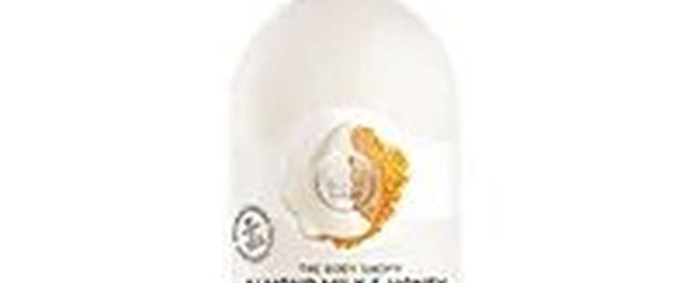 The Body Shop Almond Milk and Honey Shower Cream